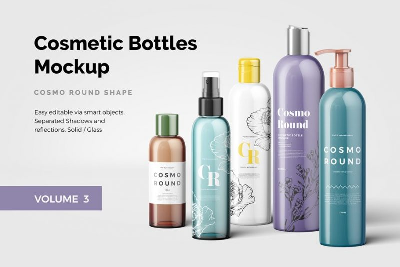 Cosmetics Bottle Branding Presentation