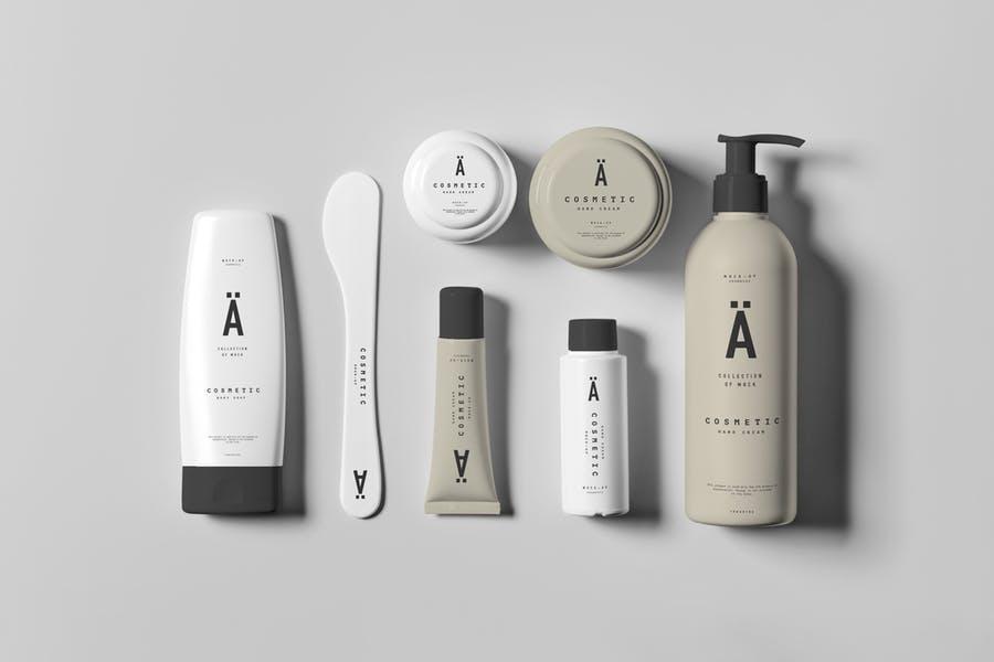 Cosmetics Branding Mockups PSD