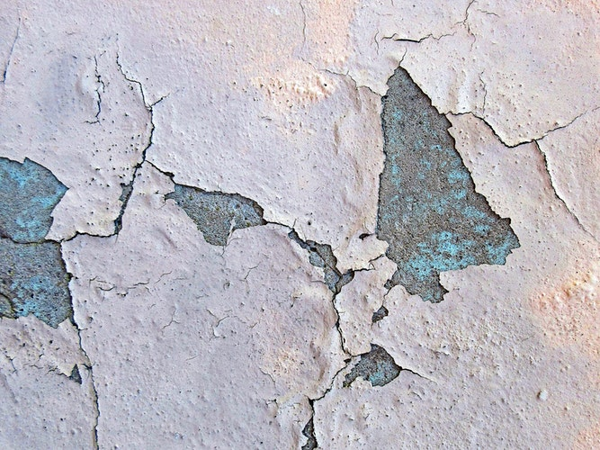 Cracked Concrete Wall Background