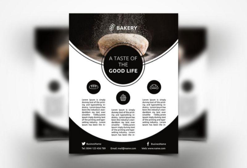 Creative Bakery Flyers