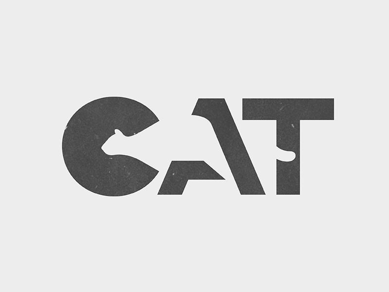 Creative Cat Logo Idea