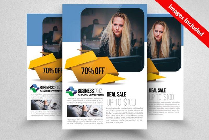 Creative Recruitment Flyer PSD