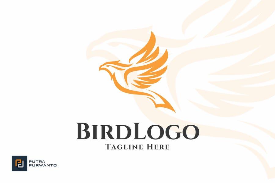 Customizable Bird Logo Design