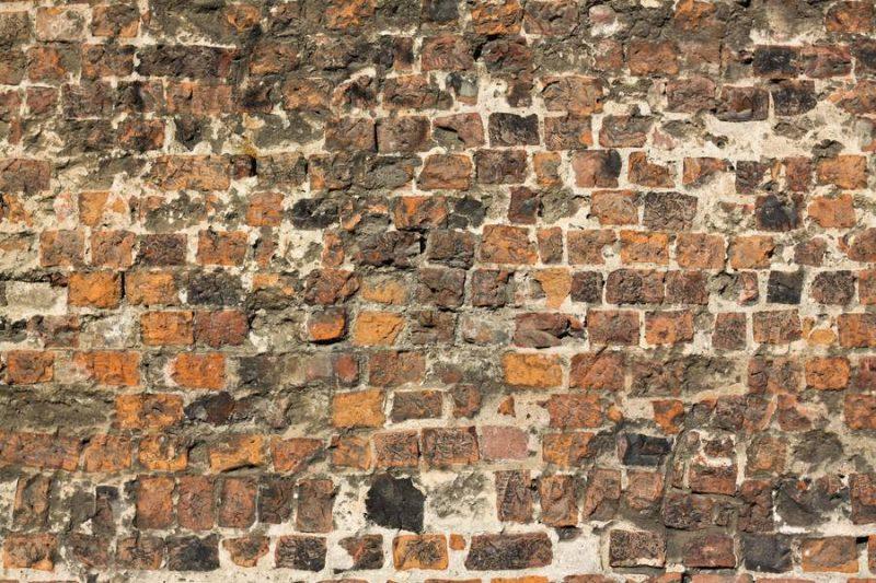 Damaged Brick Wall Texture