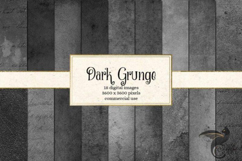 Dark Grunge Texture Backgrounds