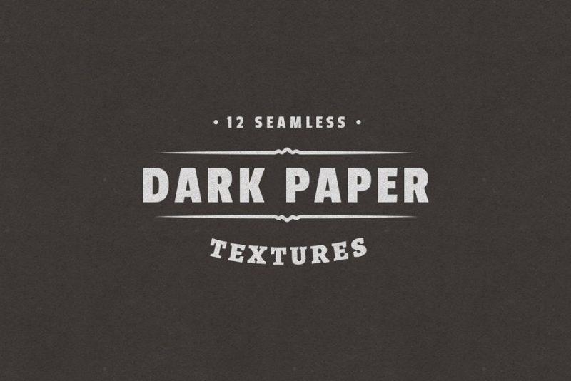 Dark Paper Textures