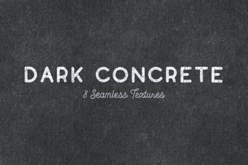 Dark Seamless Concrete Backgrounds