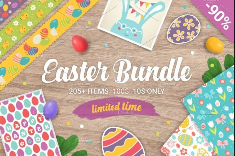Easter Cards bundle