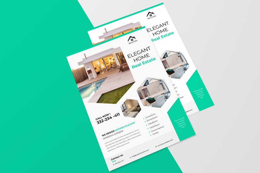 Easy Customizable Real Estate Flyer