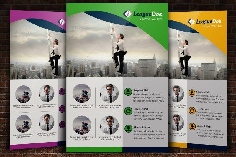 Easy Editable Recruitment Flyers