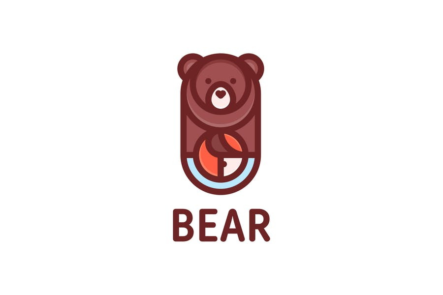 Eco Bear Branding Design