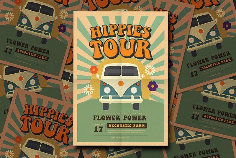 Editable Band Tour Flyer