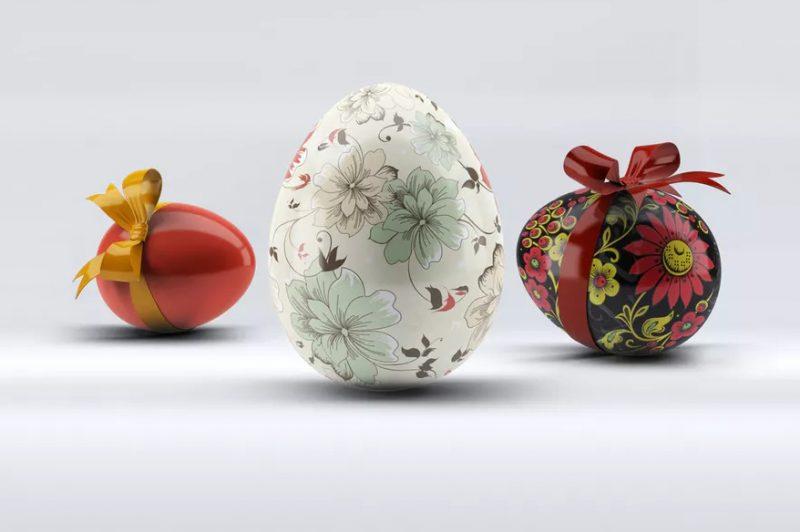 Editable Egg Mockups