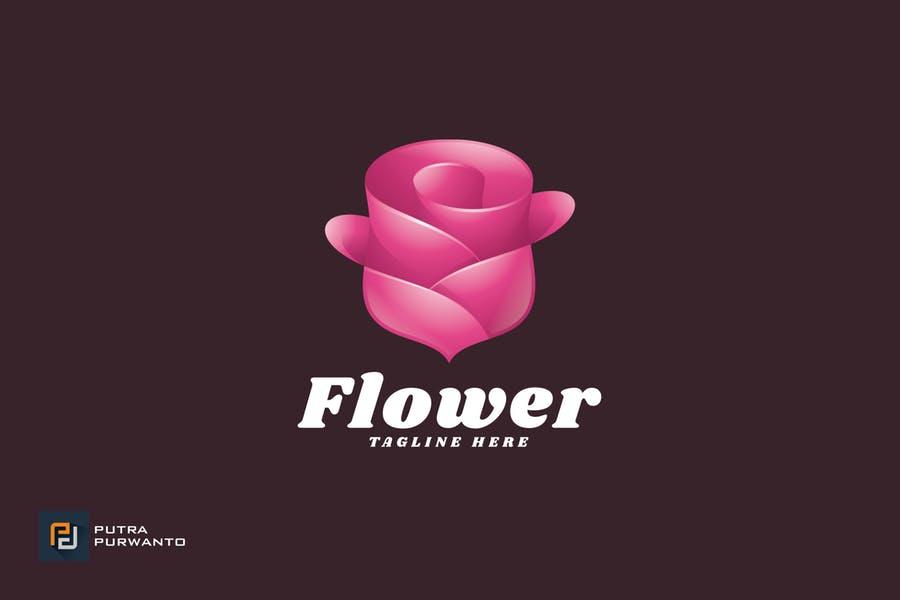 Editable Flower Brand Identity