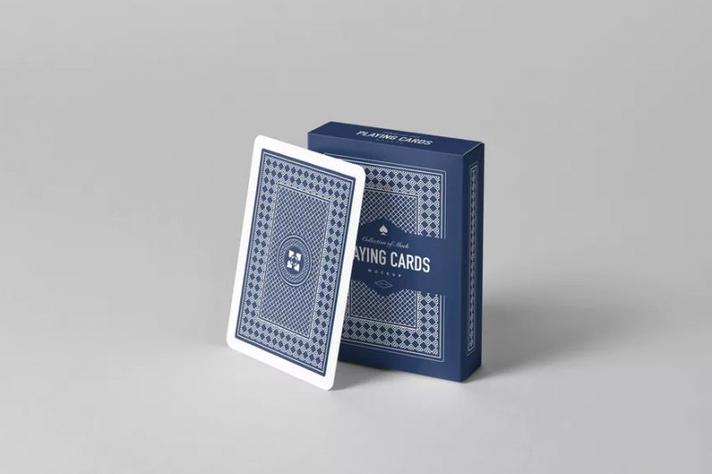 Editable Poker Cards Mockup