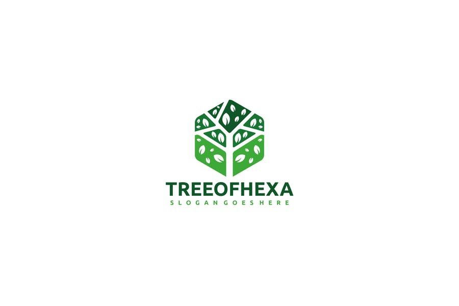 Editable Tree Logo Design