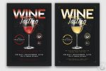 15+ Wine Tasting Flyers PSD, Ai and Word Format