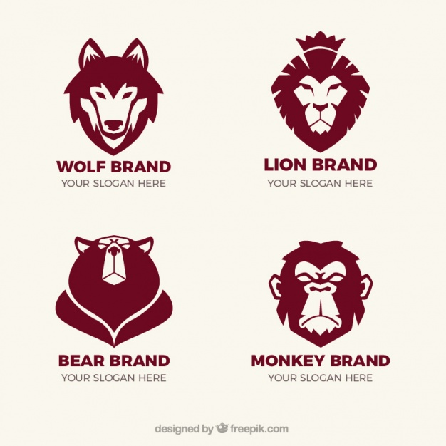 Fantastic Animal Logo Set