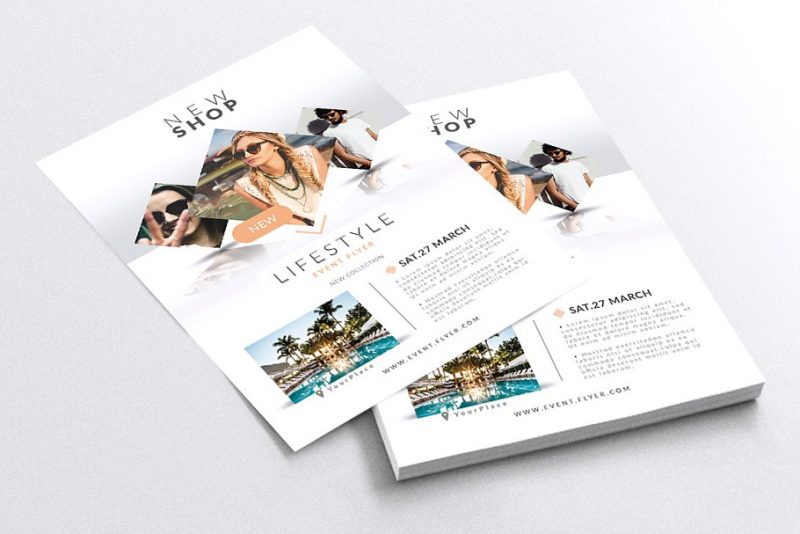 Fashion Event Flyers Template