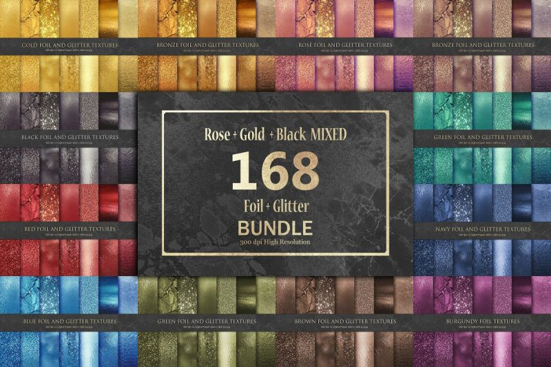 Foil and Glitter Bundle Pack