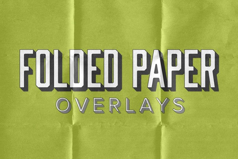 Folded Paper Overlays Texture