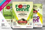 7+ Food Drive Flyers Template PSD and Ai Format