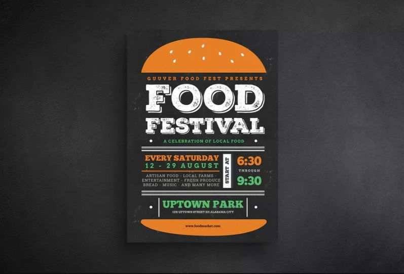 Food Festival Flyer Templates