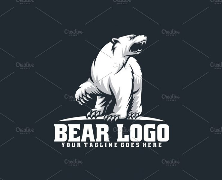 20+ Best Bear Logo Designs, Ideas, and Examples