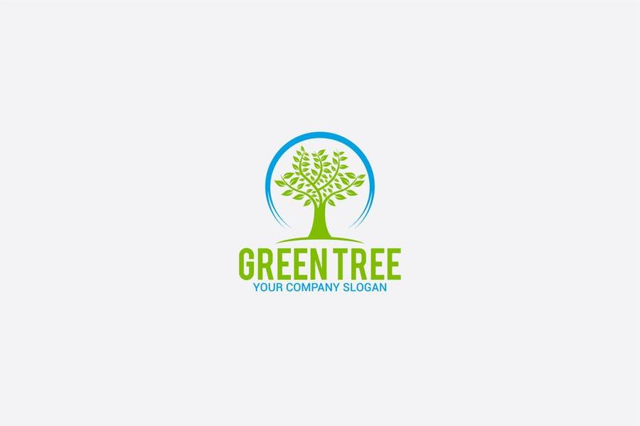 Fully Editable Tree Branding Design