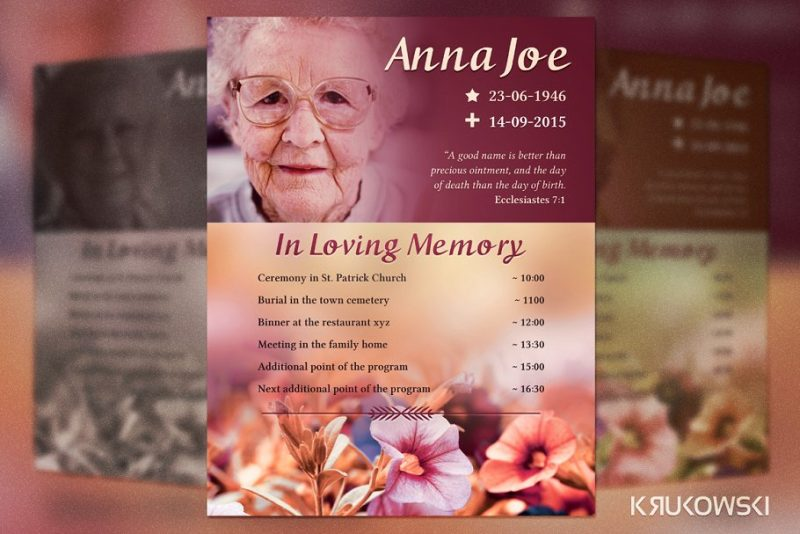 Funeral Plan Flyers