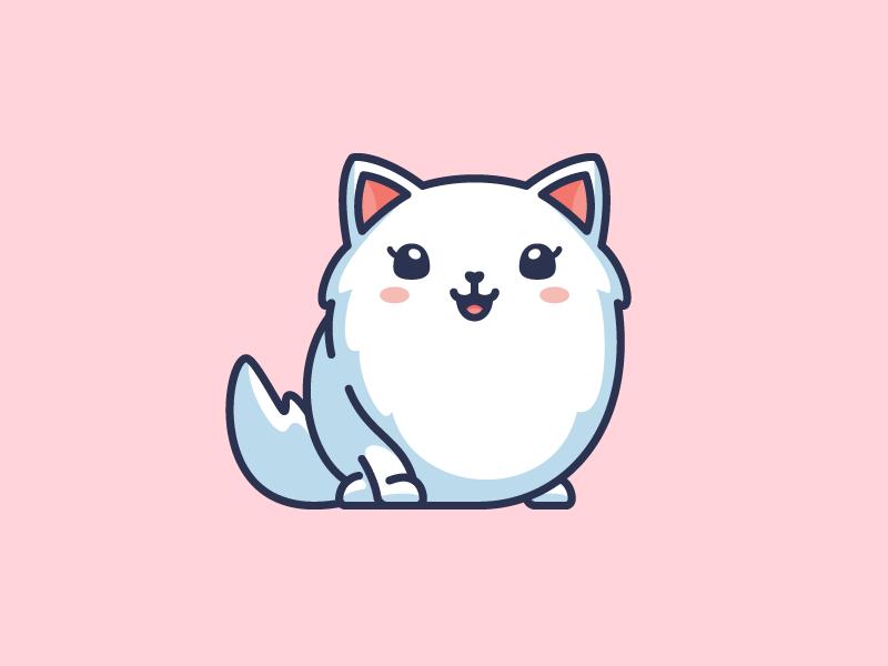 Furry Cat Branding Design