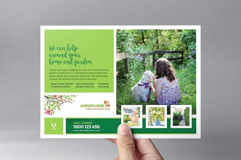Gardening Services Flyer Template