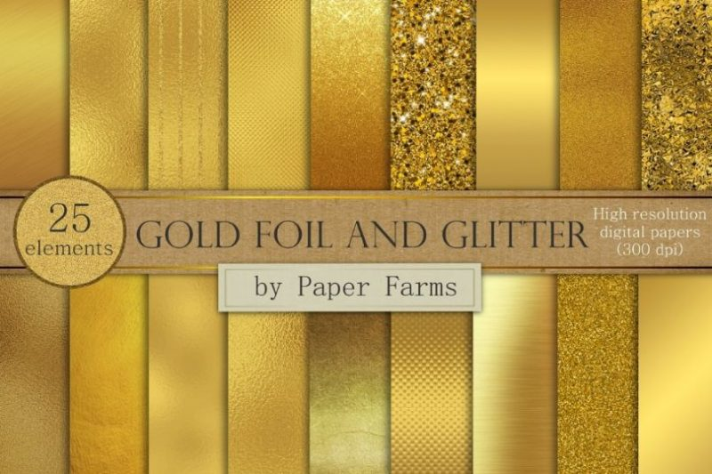 15+ Best Gold Foil Textures Free Download