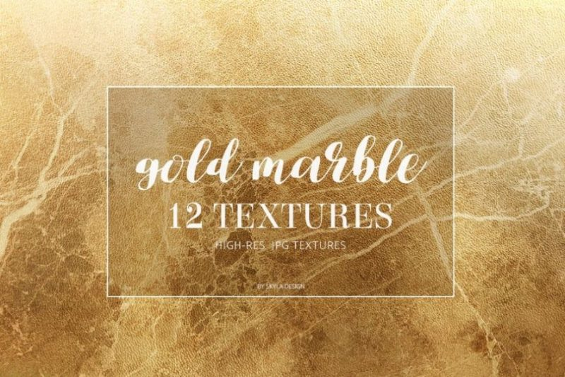 Gold Marble Background Textures