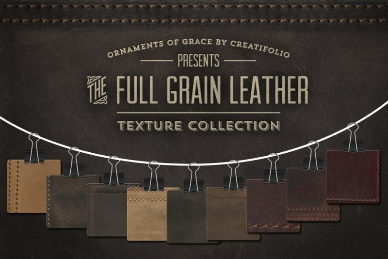Grain Leather Texture Backgrounds