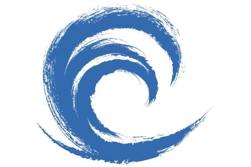 Grunge Wave Logo Type