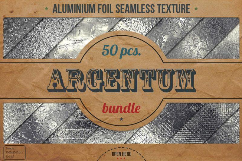 HD Aluminum Textures Bundle