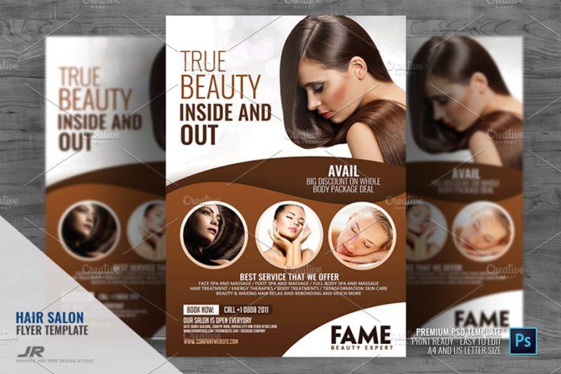Hair Salon Center Flyer