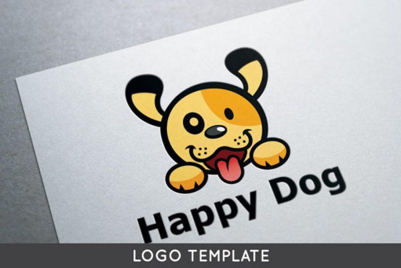 Happy Puppy Logotype