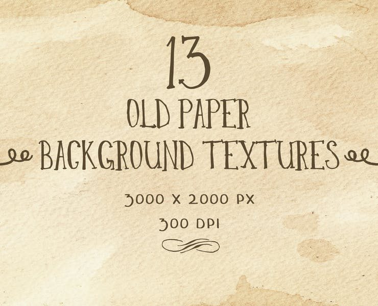20+ Old Paper Textures PNG and JPG