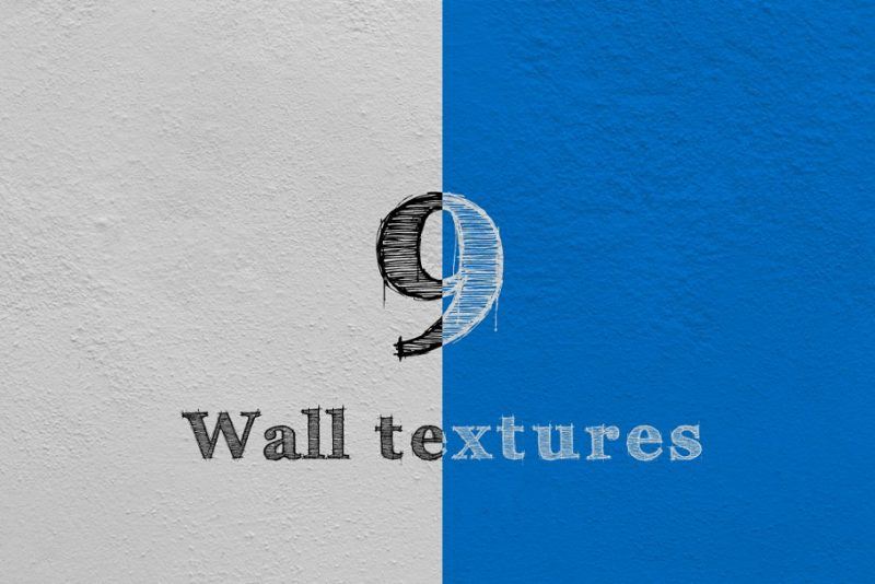 High Resolution 9 Wall Textures