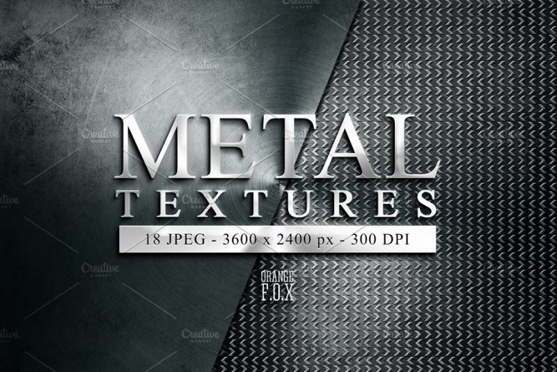 High Resolution Metal Textures