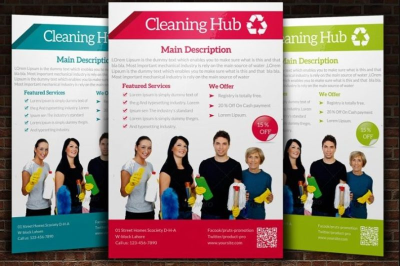 House Cleaning Service Flyer