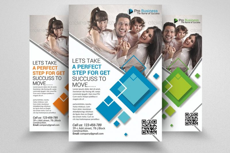 Insurance Business Flyer Poster Template