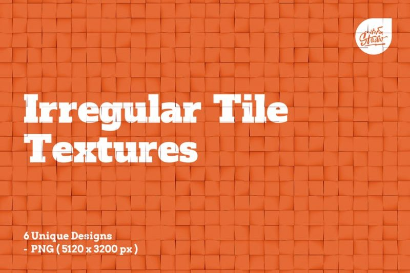 Irregular Tile Textures Design