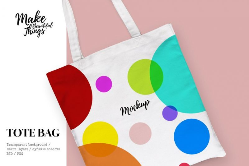 Isolated Bag Mockups Design