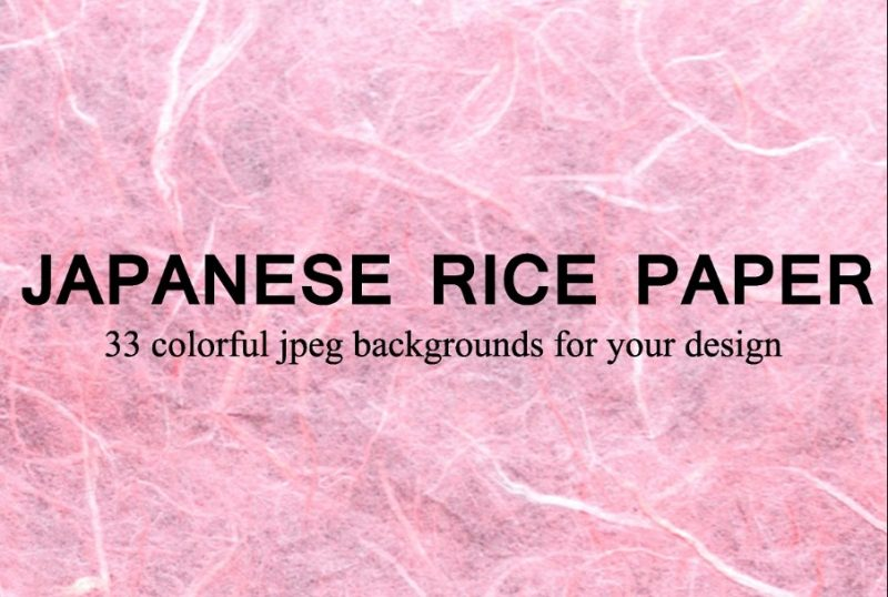 Japanese Rice Paper Texture