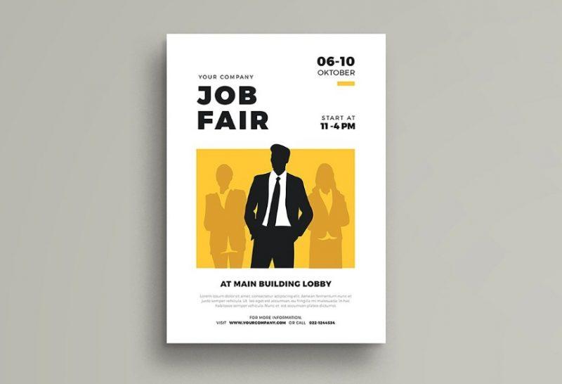 Job Fair Flyers Template