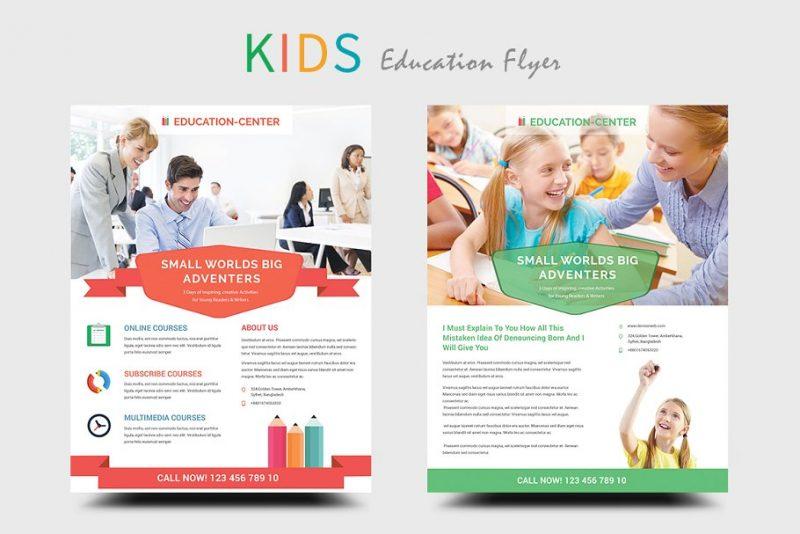 Kids Educational Flyers