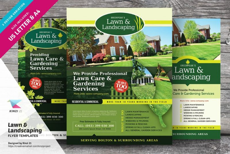 Landscaping Flyers Template